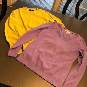 Set of Two Like-New Banana Republic Sweaters.